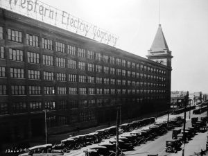 The Hawthorne Building of the Western Electric Company