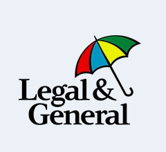 Legal and General Logo, Multicoloured Umbrella